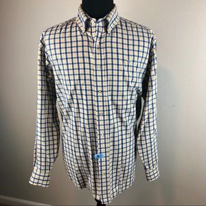 Vineyard Vines Whale Shirt L/S Button Down Mens XL